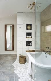 A 1990s Master Bath Shows Off In Handsome Mid-century Modern Style ... Small Mid Century Modern Bathroom Elegant Inspired 37 Amazing Midcentury Modern Bathrooms To Soak Your Nses Design Vanity Hd Shower Doors And Paint In Remodel Floor Tile Best Of Ideas For Best Mid Century Bathroom Style Project Sewn With Metro Curtain 74 Most Magic Transform On Interior