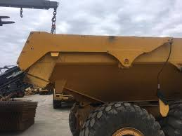 ATTACHMENT TAILGATE Front Fascias For VOLVO A30D Articulated Dump ...