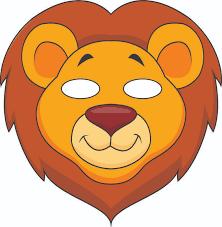Vbs Jungle Animal Mask Lion Color