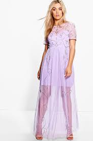 plus elin boutique embellished maxi dress boohoo