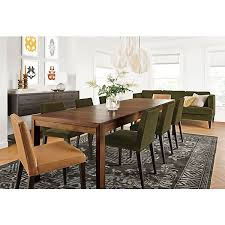 Interesting Design Dining Room Tables With Extensions Walsh Extension Table In Walnut Ava Chairs Modern