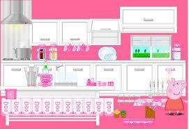 Peppa Pig Kitchen Decorating Game