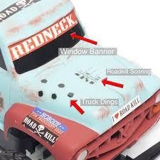 100 Redneck Truck Stickers Roadkill Varmint Smashin RC Fun