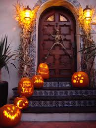 Best Pumpkin Carving Ideas 2015 by 50 Best Halloween Door Decorations For 2017