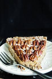 Paleo Maple Pumpkin Custard by Raw Vegan Maple Pecan Pie Made With Dates Pecan And Coconut
