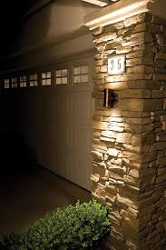 exterior wall cladding house design with outdoor led wall
