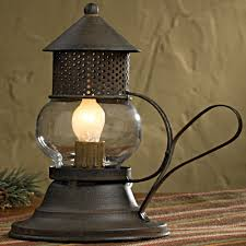 Punched Tin Lamp Shade Country by Primitive Country Accent Lamps And Decorative Country Table Lamps