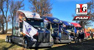 PAM Transport Delivering Wreaths To Ft. Sam Houston In Special 2018 ... Peterbilt 579 Pam Transportation Services Inc Skin Mod American Lease Drivers Benefit With Transport Purchase Program Pam Transport 30 New Gallery Of Brigadetourscom Truck Driving School Trailer Express Review 20 Swift Trucks 2mcesperzanet Oakley Driver Pay Sema Data Coop Free Schools Elegant Inrstate Trucking Reviews