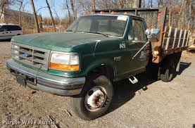 1996 Ford F450 Super Duty Flat Dump Bed Truck | Item J5581 |... 1999 Ford F450 Super Duty Dump Truck Item Da1257 Sold N 2017 F550 Super Duty Dump Truck In Blue Jeans Metallic For Sale Trucks For Oh 2000 F450 4x4 With 29k Miles Lawnsite 2003 Db7330 D 73 Diesel Sas Motors Northtown Youtube 2008 Ford Xl Ext Cab Landscape Dump For Sale 569497 1989 K7549 Au