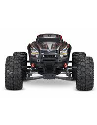 100 Traxxas Monster Jam Trucks TRA770864_RED XMAXX BRUSHLESS ELECTRIC MONSTER TRUCK WITH TQI