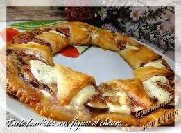 recette pate feuilletee sans gluten gourmande sans gluten tarte feuilletée aux figues et chèvre sans