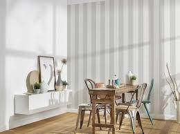 blockstreifen tapete mit textil look für junges design grau weiß