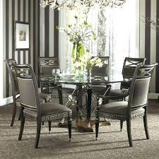 modern dining room tables seats 8 table glass chairs square for