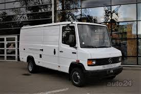 100 Mercedes Box Truck Benz Vario 609D Closed Box Truck 40 66kW Auto24lv