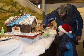 Christmas Tree Shops Boston Turnpike Shrewsbury Ma by Table Hoppin U0027 Gingerbread Creations Impressive At Osv Competition