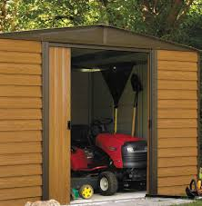 Lifetime 10x8 Sentinel Shed by 100 Arrow Storage Shed Assembly Endurashed Storage Sheds
