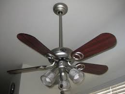 Hampton Bay Ceiling Fan Glass Cover by Hampton Bay San Marino 36 In Brushed Steel Ceiling Fan 87653
