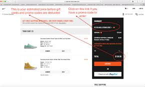 Nike Promo Code by Save Big Using Gift Cards And Coupons