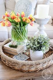 CREATE AN EASY SPRING VIGNETTE Decor For Coffee TableCoffee