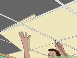 how to insulate a drop ceiling 6 steps with pictures wikihow