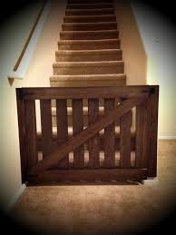 Cuteeeeeee...we Used The Girls Old Crib Rails...(light Oak Colour ... Baby Gate With A Rustic Flair Weeds Barn Door Babydog Simplykierstecom Diy Pet Itructions Wooden Gates Sliding Doors Ideas Asusparapc The Sunset Lane Barn Door Baby Gate Reclaimed Woodbarn Rockin The Dots How To Make 25 Diy 1000 About Ba Stairs On Pinterest Stair Image Result For House