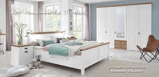 landhausstil schlafzimmer nordic dreams massivholzmöbel