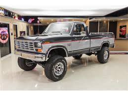 100 Ford 4x4 Trucks For Sale 1985 F250 XL 4X4 Pickup For ClassicCarscom CC1011943