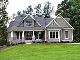 Farmhouse Houseplans Colors I Just Love Craftsman Style Homes They Are Bold Yet Inviting