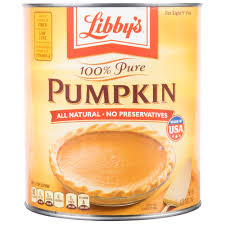 Libbys Canned Pumpkin Pie Recipe by Libby U0027s 100 Pure Canned Pumpkin 10 Can