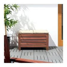 storage bench outdoor wooden outdoor wood storage bench waterproof