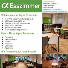 alpha esszimmer eventlocation instagram profile with posts