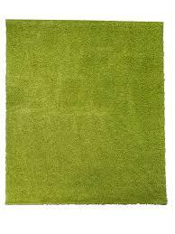 shaggy teppich wohnzimmer grün hochflor langflor flauschig einfarbig