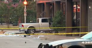 100 Dallas Truck Show Man Repeatedly Crashes Truck Into TV Station Building