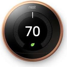 nest thermostat energy score null 100 learning thermostat copper