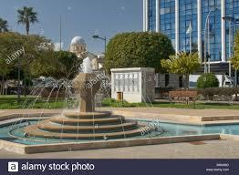 100 Molos Fountain In Park Near Promenade In Limmasol Old Town Cyprus