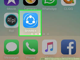 How to Upload Files to iOS from PC via SHAREit 13 Steps