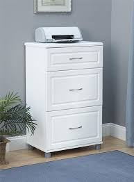 Three Drawer Filing Cabinet Wood by Amazon Com Systembuild Kendall 24