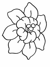 Flowers 1 Coloring Pages