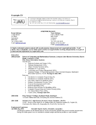 Hobbies And Interests On A Resume Examples Of Resumes With Interest For Samples