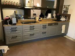ikea küche landhausstil grau auf wunsch mit elektrogeräten