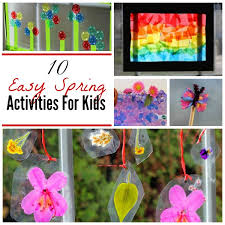 10 Easy Spring Crafts Activities For Kids