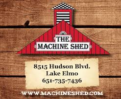 the machine shed award winning food made from scratch daily