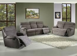 canapé de relaxation 2 places canapé de relaxation manuel microfibre 3 places 2 relax