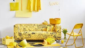 couvre canapé ikéa housse canapé klippan jaune canapés ikea