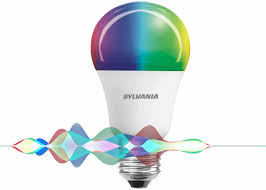 sylvania smart light bulb connects to siri without the need for a