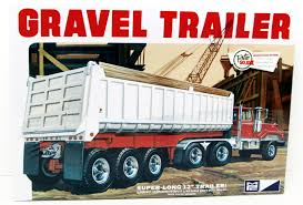 Gravel Trailer MPC 823 1/25 Super Long Plastic Model Kit New   Products Very Htf Revell Ford Aeromax 106 Cventional Model Truck Kit 124 Nib Amt Usa 125 Scale Fruehauf Flatbed Trailer Plastic 002 Trumpeter 135 Df21 Ballistic Missile Launcher Scaled Marmon Stars And Stripes American Sdv Plastic Model 187 H0 Praga With V3s Pad S Rmz Scania Container 164 Pla End 21120 1106 Am 1200scale 6cm Long Architectural Model Plastic Miniature Aoshima 132 Shines Deco Truck Led New Goods Revellkit 07524 Scania 143m Truck With Trailer Amazoncom Snap Tite Freightliner Aurora Kits Wwwtopsimagescom Big Rig White Classic Bonnet Semi Tractor