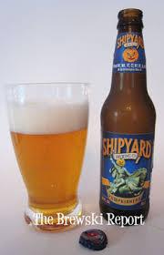 Shipyard Pumpkin Ale Recipe by Shipyard Brewing Co The Brewski Report