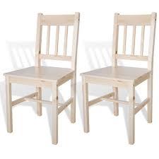 2x holzstuhl esszimmerstuhl küchenstuhl stühle massivholz