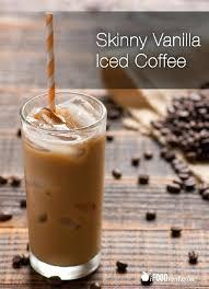Vanilla Iced Coffee Starbucks Healthy