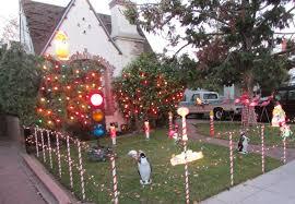Alameda Christmas Tree Lane 2015 by Christmas Splendi Palo Alto Christmass Winchester Lane Tree